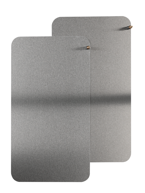 idromed®5 Plate Electrodes (2pc)