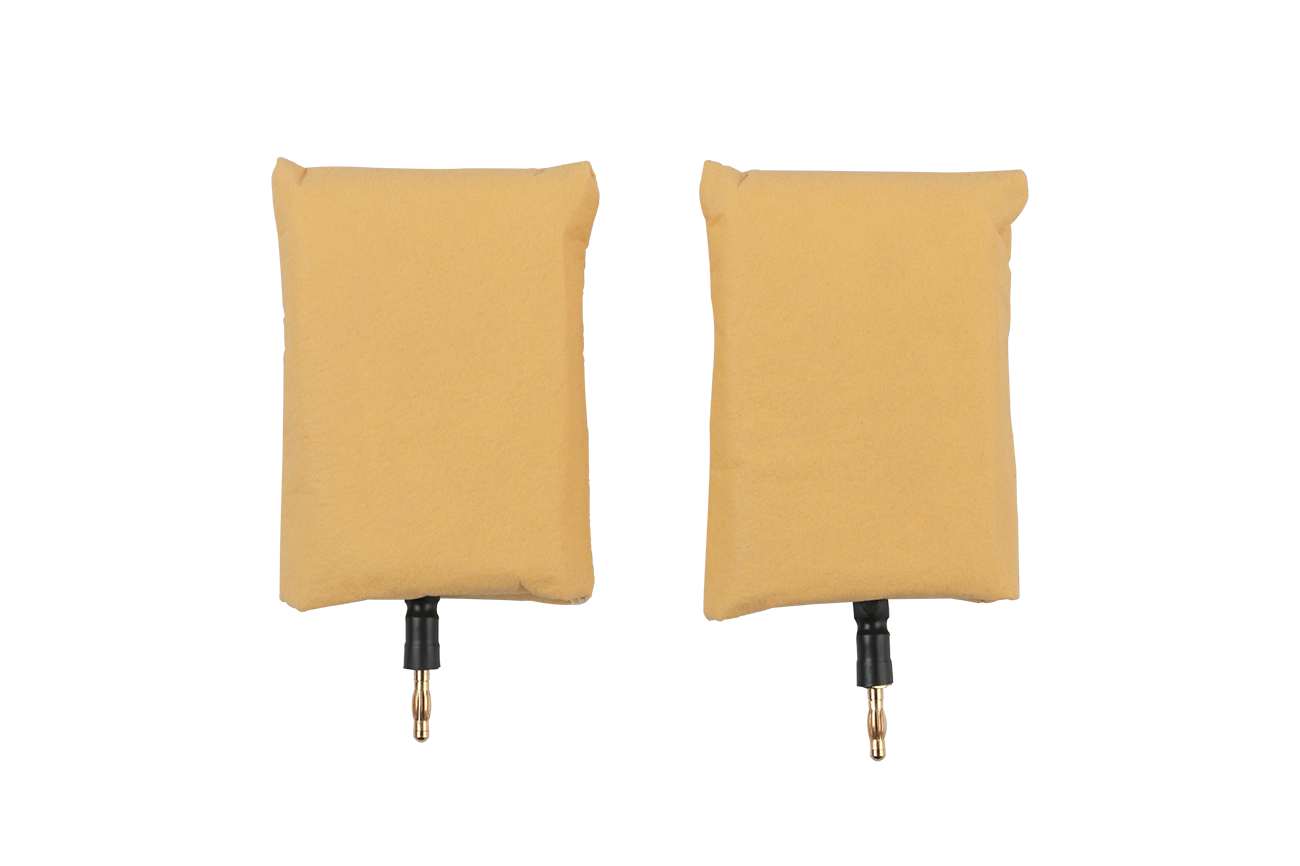 idromed®5 Small Plate Electrodes with Comfort Sponge Pockets (2pc)